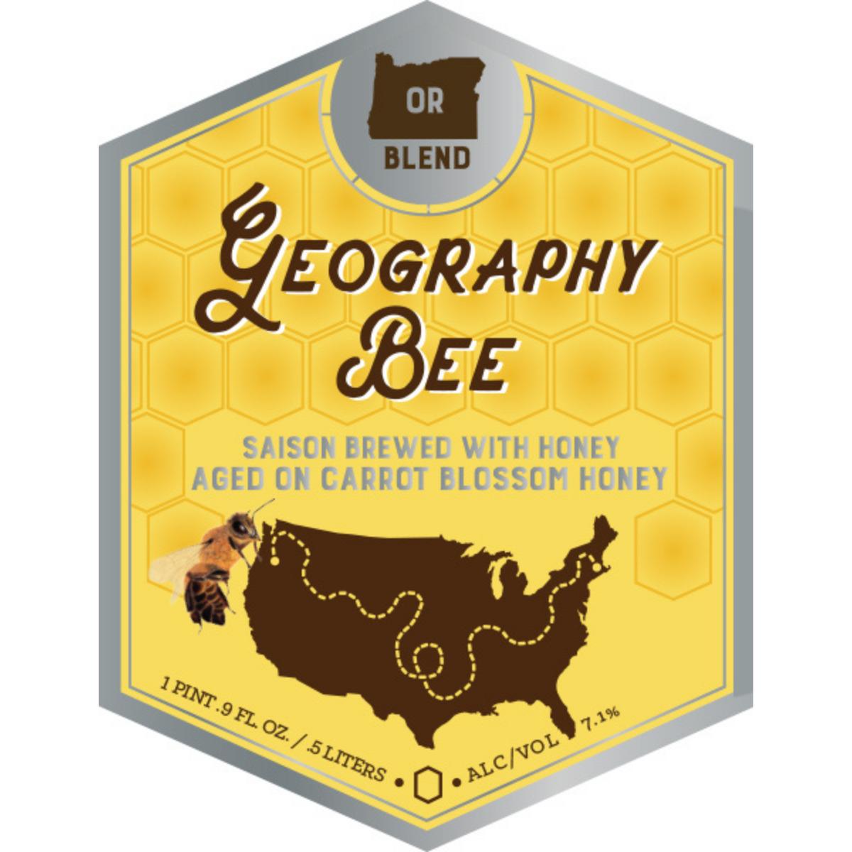 Jack's Abby/ Springdale Beer/ Nectar Creek Geography Bee- Oregon Blend