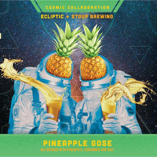 Ecliptic/Stoup Pineapple Gose